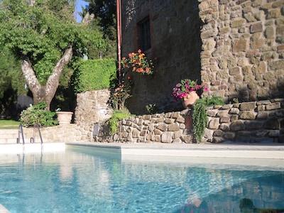 Mercatale Valdarno, Montevarchi, Toskana, Italien