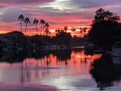 Another perfect picture ending to a great day in paradise.