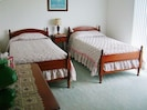 Room with 2 twin beds and private sundeck