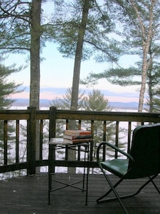 Lake Ossipee from the deck