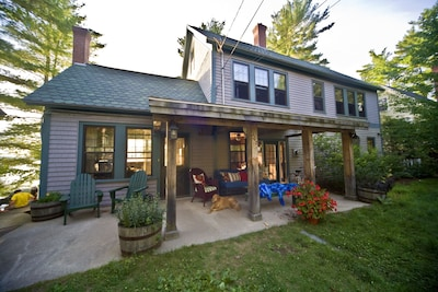Farmer's Porch - Front of Lodge