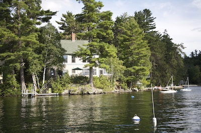 Great East Lodge from the water.