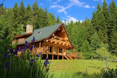 The lodge in spring
