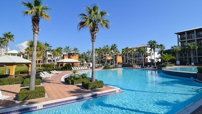 The stunning Seacrest Beach 12,000 square foot pool