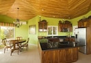 Full furnished kitchen with granite countertops