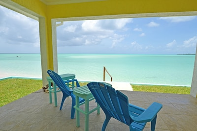 Relax on the Beachfront porch!