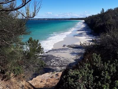 Beautiful Callala Bay beach