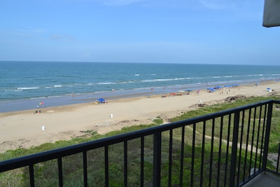 Balcony view , direct beach access