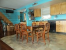 Large eat-in kitchen/great room.