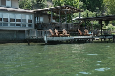 Covered & uncovered decks double your living space.
