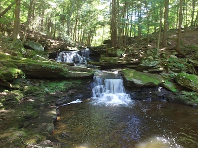 Beautiful Crooked Creek Falls!