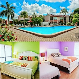Enjoy the largest heated pool on the island and your choice of 1br or 2br unit