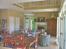family room / dining room