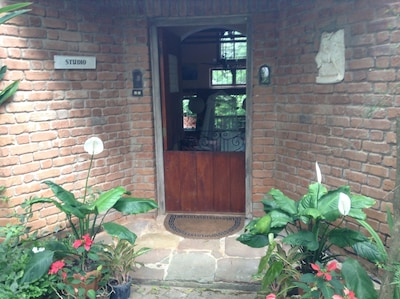 Entrance to Artist Cottage