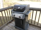 Gas grill for BBQ.