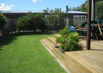 Yard and deck