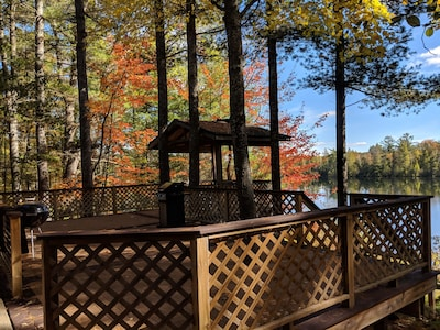 Fall deck view
