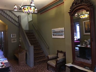 Foyer to Stone Gables Bed and Breakfast!