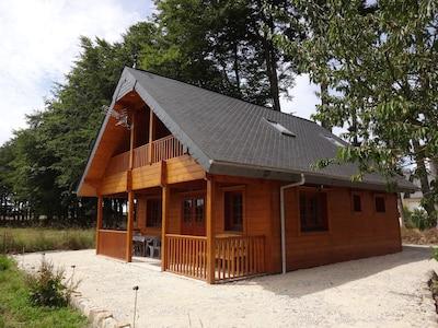 jolie maison en bois
