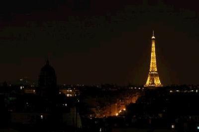 Paris by night, depuis la terrasse.