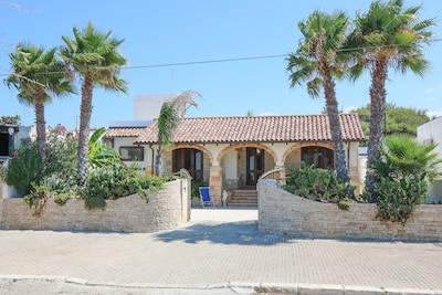 Facciata Villa Jinette