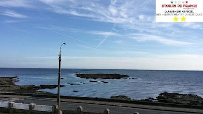 Splendide vue mer en face les îles des Glénans