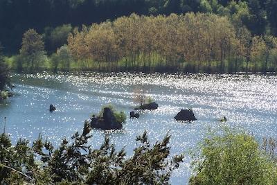 Lac La Cassière en face