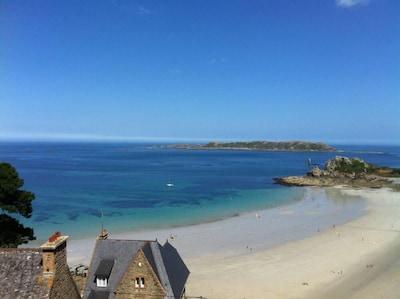 la vue sur la plage (2)