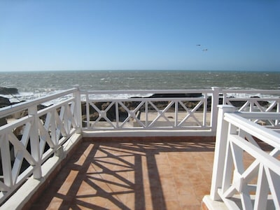 Sea view from upper roof terrace