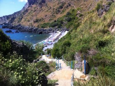 Scalea Station, Scalea, Calabria, Italy