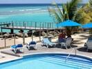 Pool area for Ocean Vista and Perfect Heaven Condos