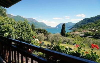 Bellagio maison emplacement unique avec jardin et vue sur le lac