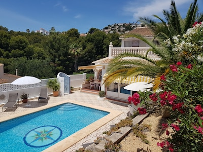 Villa Ra - a magical haven on a quite hillside