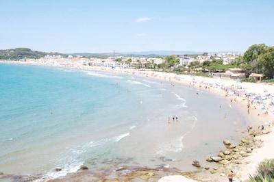 La plage d'Altafulla.