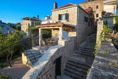 Port de Cavtat, Konavle, Comitat de Dubrovnik-Neretva, Croatie