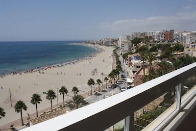 Villajoyosa Seafront Promenade, Villajoyosa, Valencian Community, Spain