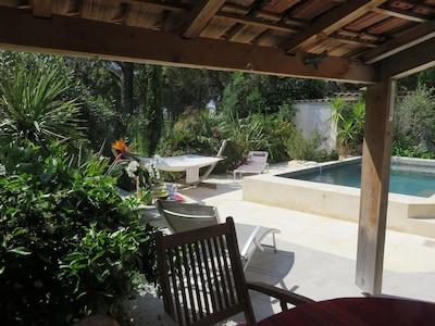 In Ecrin de Verdure, Nizza provenzalischen Villa. Hervorragende Lage !!