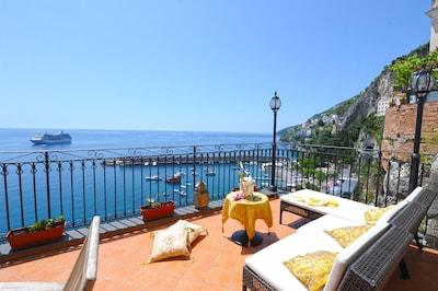 Dôme d'Amalfi, Amalfi, Campanie, Italie