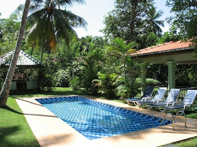 View of the pool