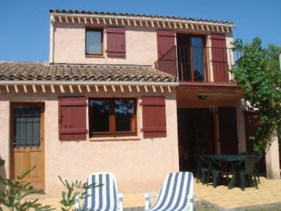 Tourrettes: Casa / villa - Tourrettes (Var): villa due south with swimming pool and tennis