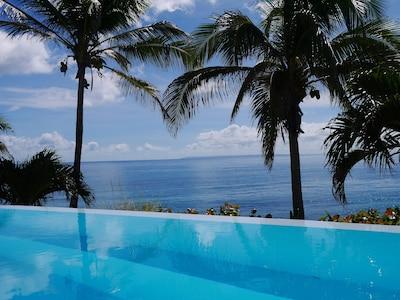 vue mer de la piscine