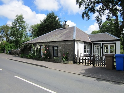 The cottage stands alone but only 2 minutes from the nearest pub or local shop.
