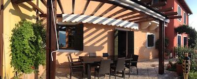 Casa Pina, incantevole casa in un posto tranquillo, aria condizionata