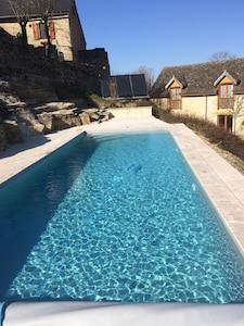 La nouvelle piscine est prête à vous accueillir