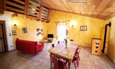 casa vacanze maison povil vicino aosta 1-5
