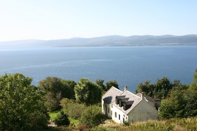 House with views across to Kintyre
