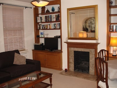 Partial view of sitting room