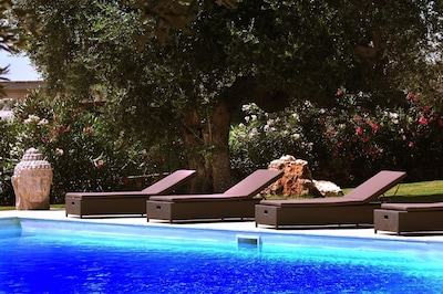 Tranquility by the pool