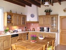 The spacious fully equipped Kitchen