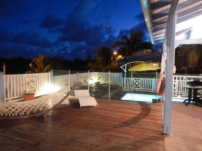 Ambiance Villa Koris Coquillages de nuit !!